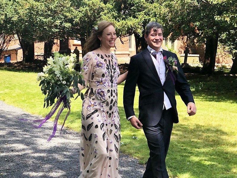 Our News for July 2019: Four CTI Analysts And A Wedding!
